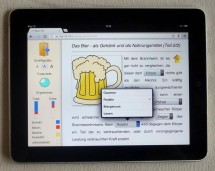 Fleppo Text auf iPad